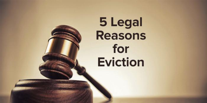 5 legitimate reasons to evict a tenant robertsrentalsblog. Black Bedroom Furniture Sets. Home Design Ideas