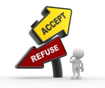 accept refuse